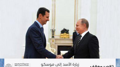 Photo of زيارة الأسد إلى موسكو
