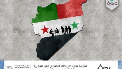 Photo of قراءة في خريطة الصراع في سوريا