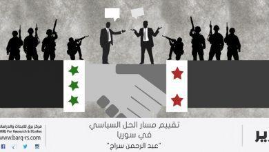 Photo of تقييم مسار الحل السياسي في سوريا