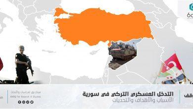 Photo of التدخل العسكري التركي في سورية، الأسباب والأهداف والتحديات