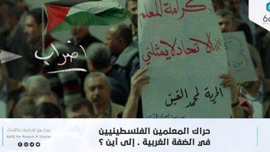 Photo of حراك المعلمين الفلسطينيين في الضفة الغربية. إلى أين؟