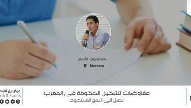 Photo of مفاوضات تشكيل الحكومة بالمغرب تصل إلى النفق المسدود