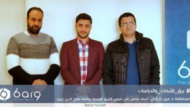 Photo of زيارة د.عزيز بارزاني مركز برق للأبحاث والدراسات