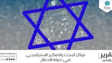 Photo of مراكز البحث والتفكير الاستراتيجي في دولة الاحتلال