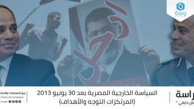 Photo of السياسة الخارجية المصرية بعد 30 يونيو 2013