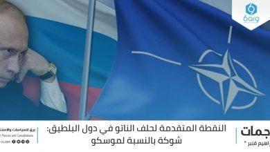 Photo of النقطة المتقدمة لحلف الناتو في دول البلطيق: شوكة بالنسبة لموسكو
