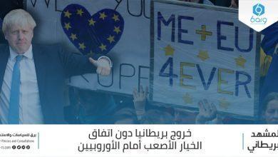 Photo of المشهد البريطاني: خروج بريطانيا دون اتفاق – الخيار الأصعب أمام الأوروبيين